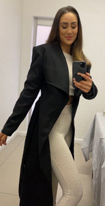Black Fitted Coat