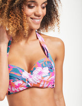 Load image into Gallery viewer, Seafolly Copacabana Soft Cup Tie Top Bikini