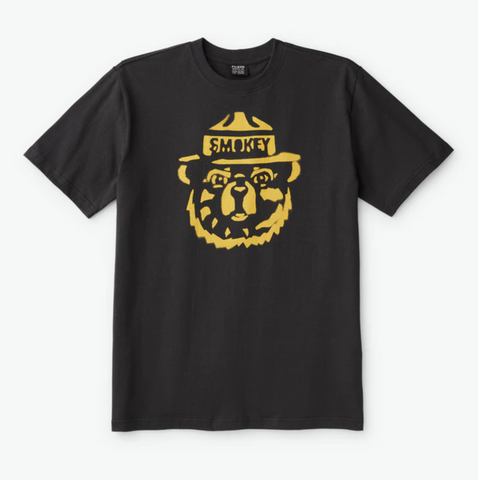 Filson Faded Black Smokey the Bear Men's T-Shirt - Dirtbag Shop