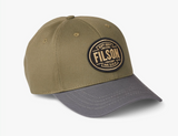 Filson Logger Cap - Olive/Cardinal Red - Dirtbag Shop
