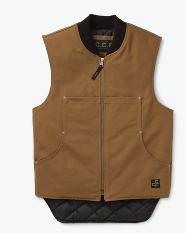 Filson Work Vest - Sepia - Dirtbag Shop