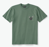Filson Smokey the Bear Pocket T-Shirt - Olive - Dirtbag Shop
