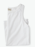 Filson Jersey Knit Women's Tank Top - White - Dirtbag Shop