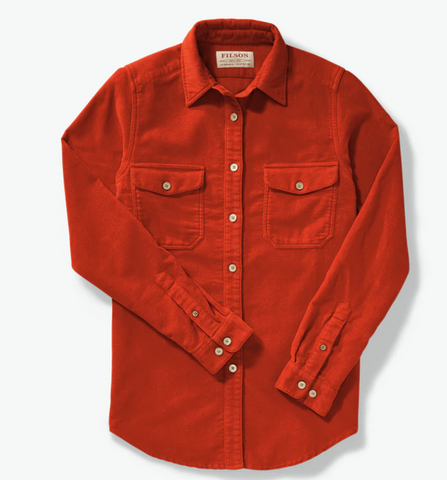 Moleskin Shirt - Burnt Orange - Dirtbag Shop