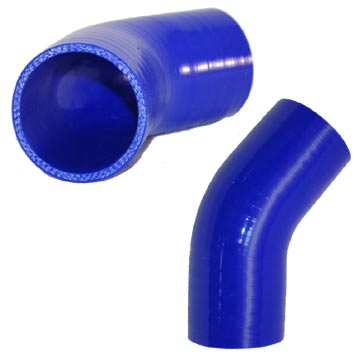 "3.5"" Silicone 45° Elbow"