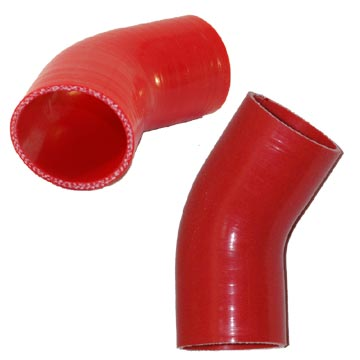 "2.5"" Silicone 45° Elbow"