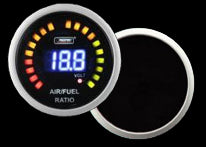 Prosport Air/Fuel Ratio & Voltage Gauge Digital Display-52mm
