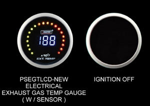 Prosport Exhaust Gas Temperature Gauge Digital display-52mm