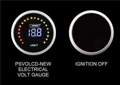 Prosport Volt Gauge Digital Display-52mm