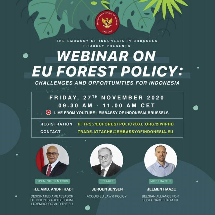 Webinar on EU Forestry Policy - 27 November
