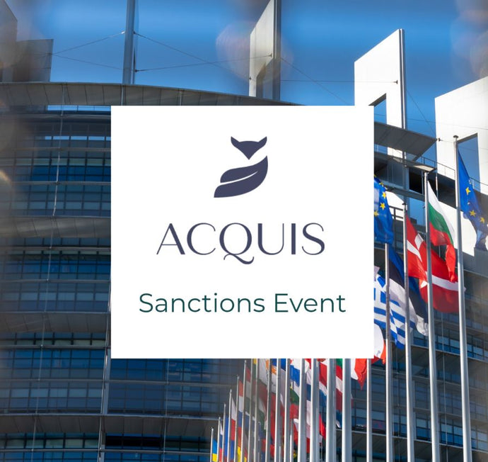 Webinar EU Sanctions: Key Recent Developments and Practical Implications for Companies