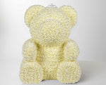 Adore Crystal Rose Bear - Large