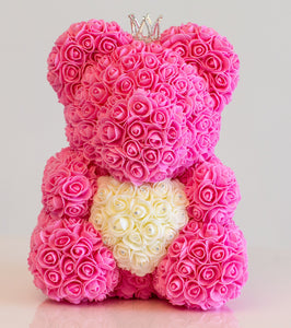 Adore Heart Bear - Medium