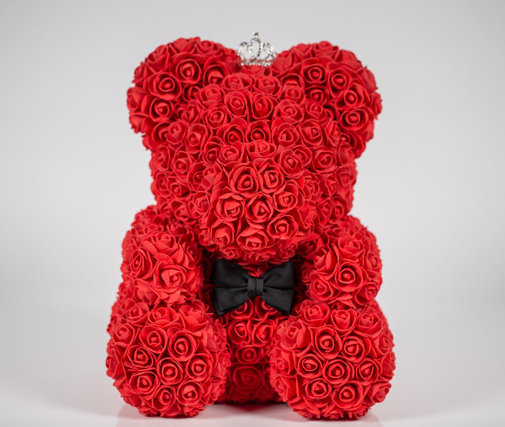 Adore Rose Bear - Medium