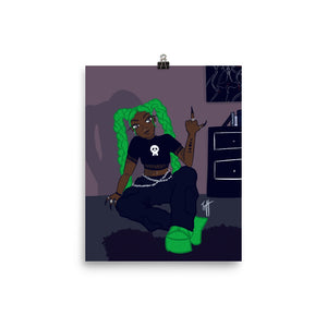 """Wicked Bitch"" Print"