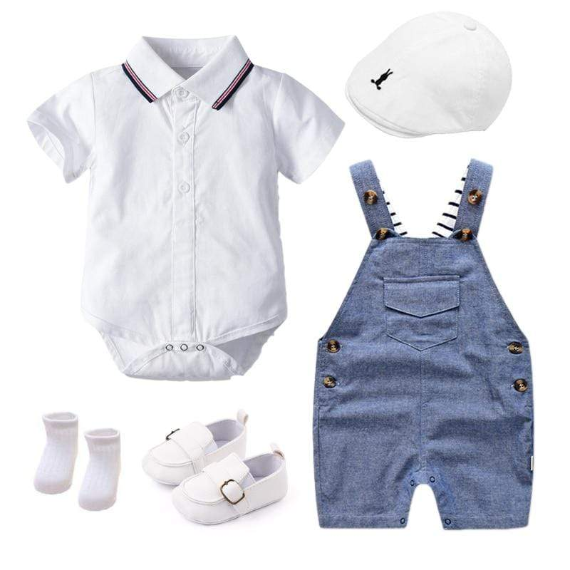 Boy's Clothing Summer Newborn Clothes Set
