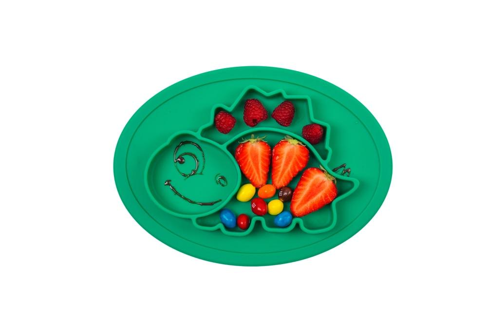 Accessories Dinosaur Silicone Plate