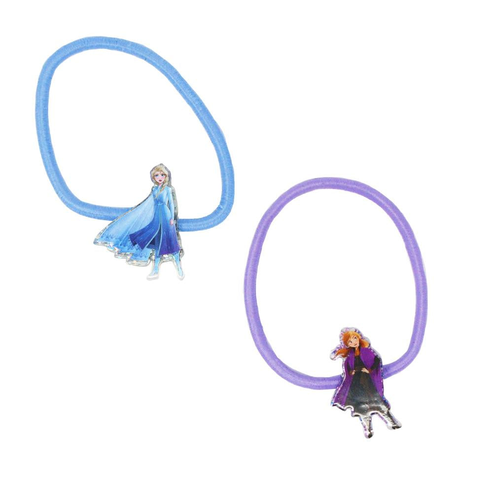 Frozen2 Character Shaped Hair Elastics - Pink Poppy