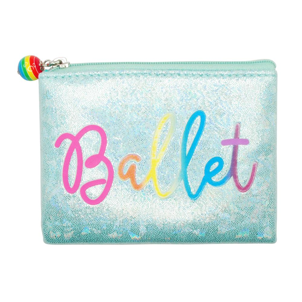 Vivid ballet coin purse-mint - Pink Poppy