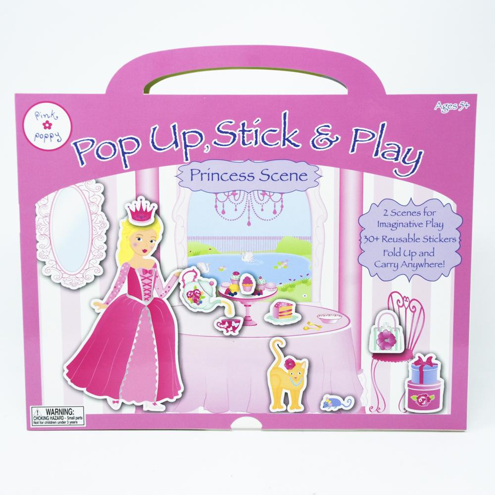 Princess Pop-Up Castle - Pink Poppy