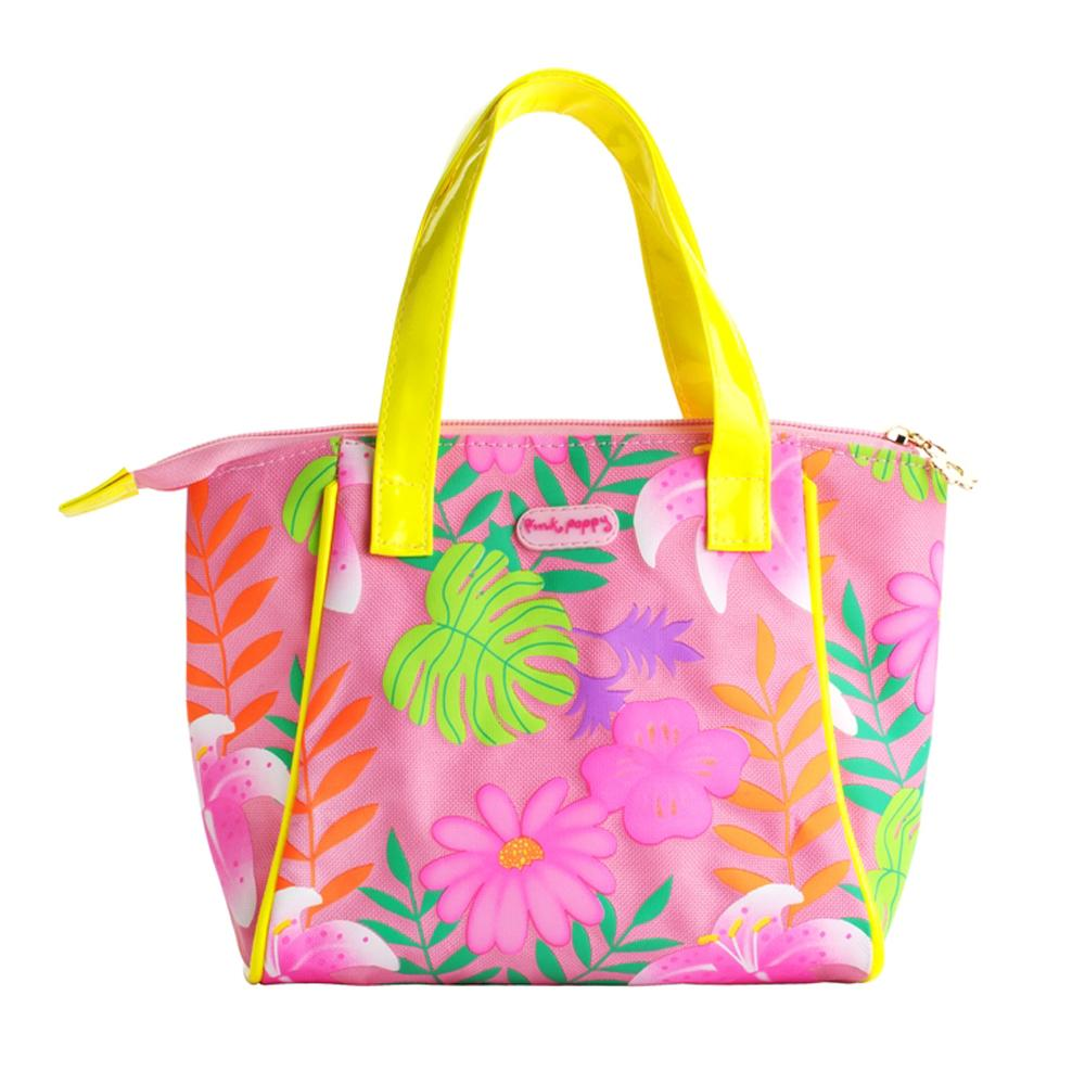 Tropical tango handbag-pink - Pink Poppy