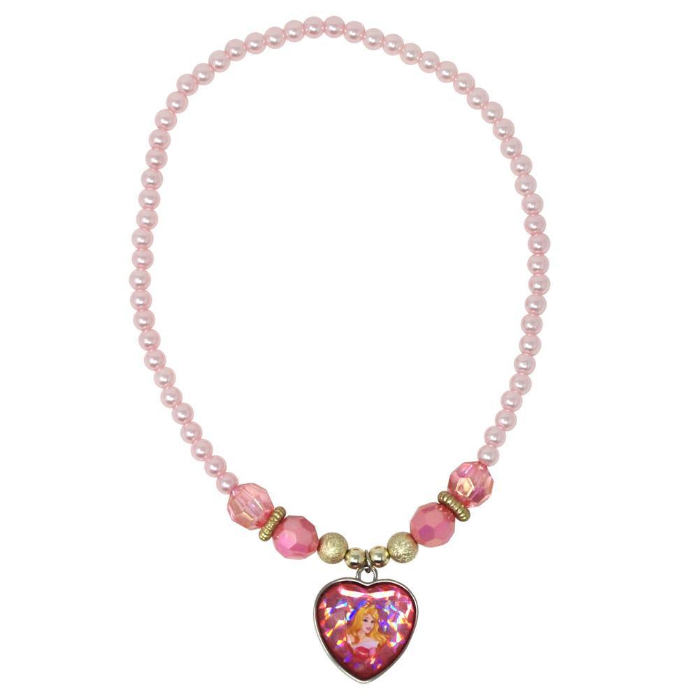 Disney Princess Aurora Necklace - Pink Poppy