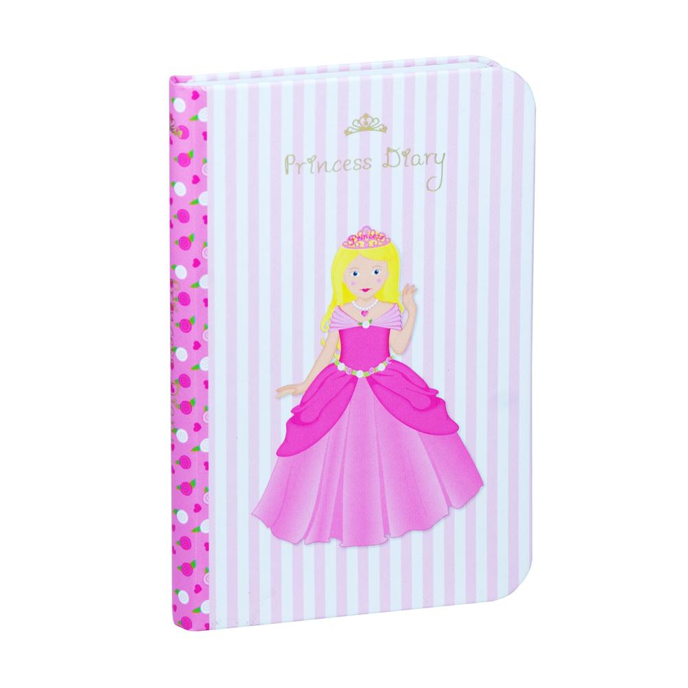 Princess Notebook - Pink Poppy