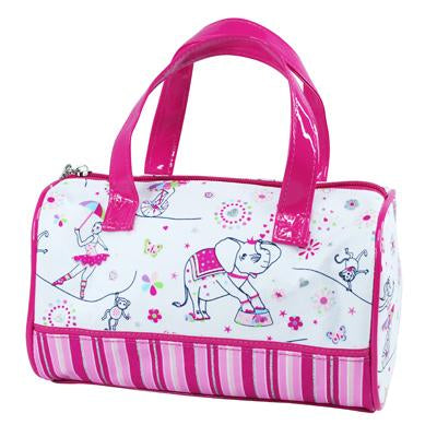 Carnival Bowling Bag - Pink Poppy