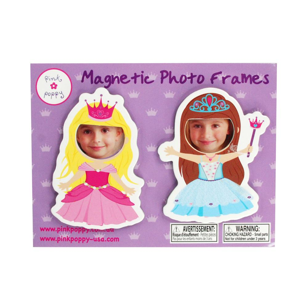 Princess magnet photoframe - Pink Poppy