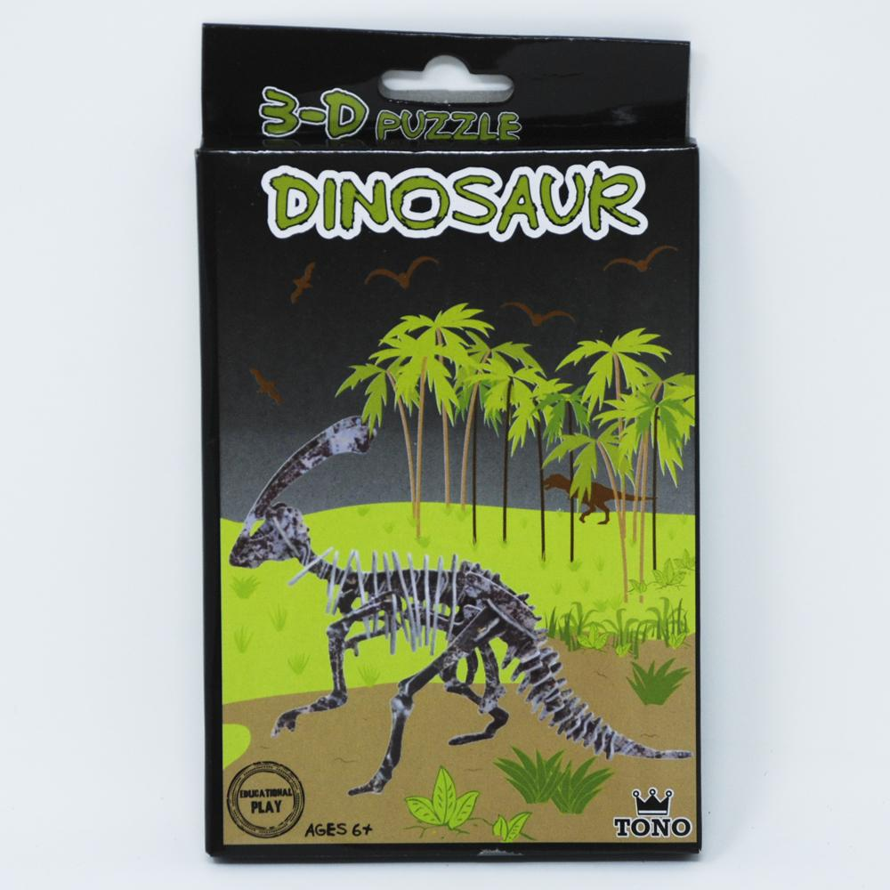 Build your own dinosaur-parasaurolophus - Pink Poppy
