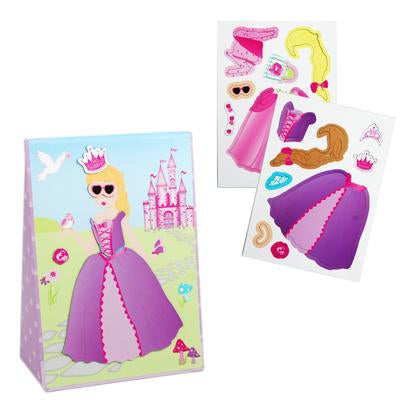 Princess magnetic dress up play - Pink Poppy
