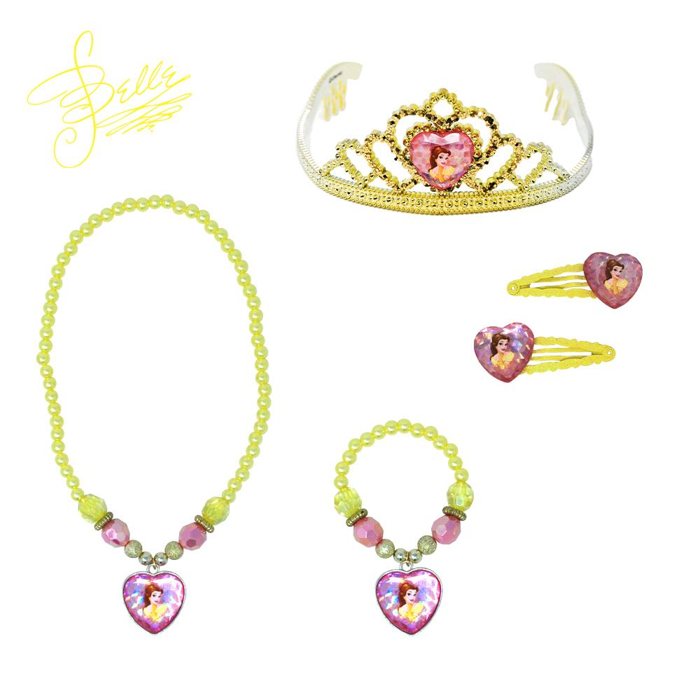 Disney Princess Belle Accessory Bundle - Pink Poppy