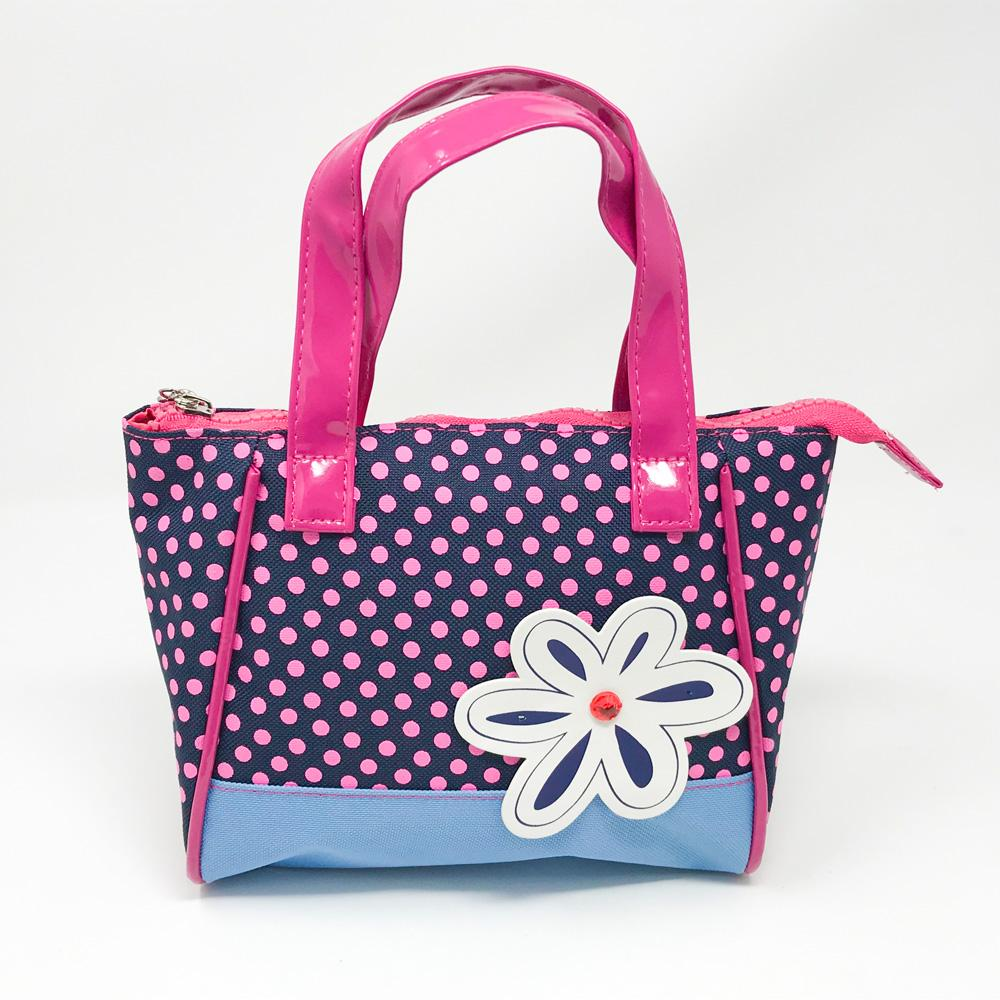 Imagination Handbag-Blue - Pink Poppy