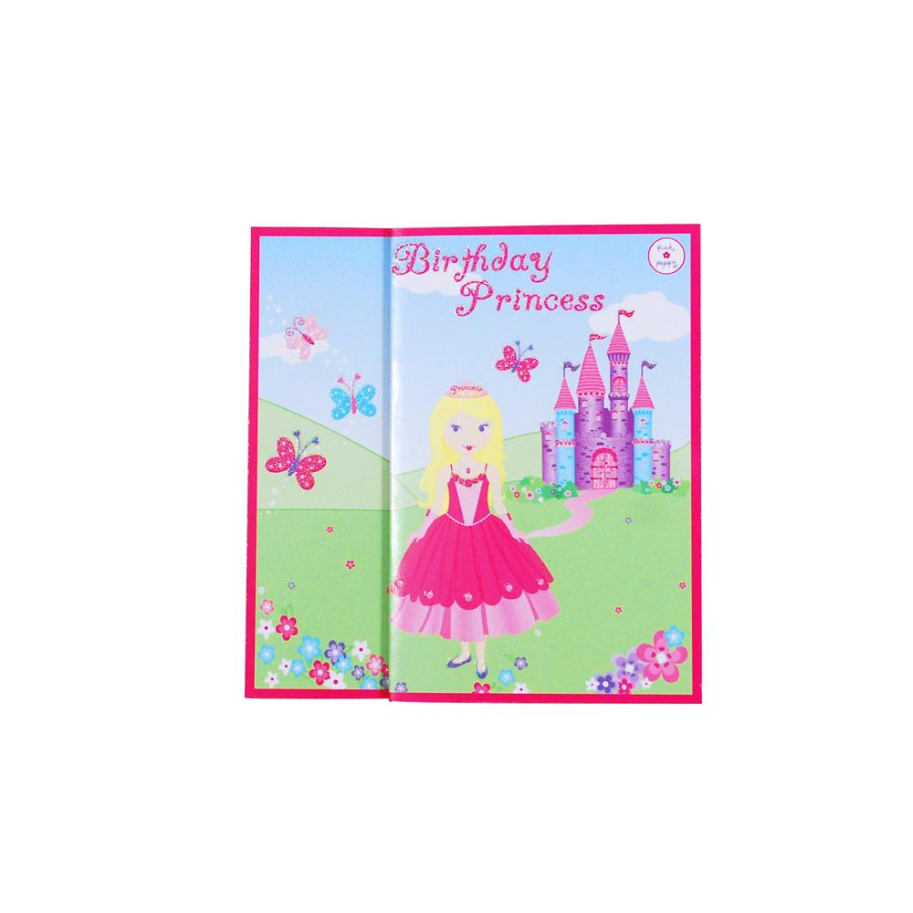 Essentials Princess Birthday Card - Pink Poppy