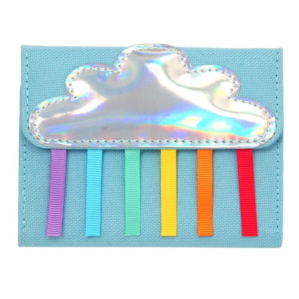 Rainbow Magic Wallet-Blue - Pink Poppy
