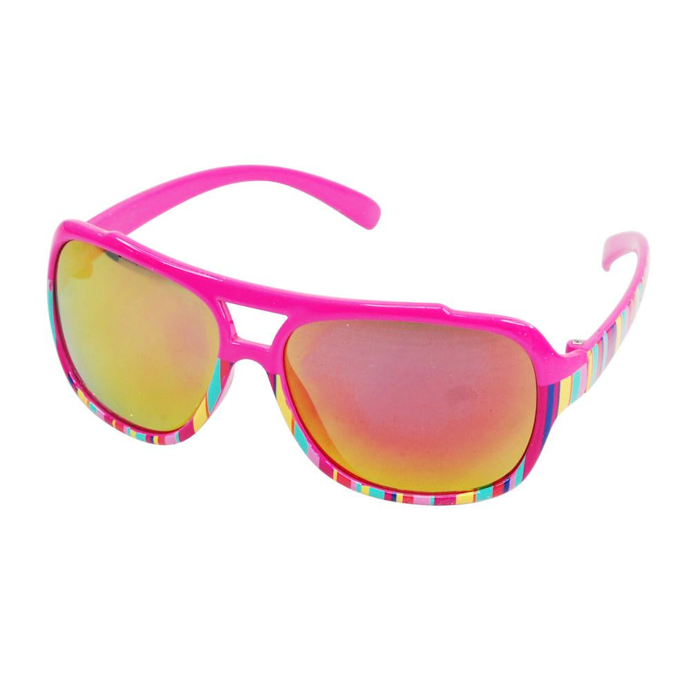 Summer Candy Sunglasses - Pink Poppy
