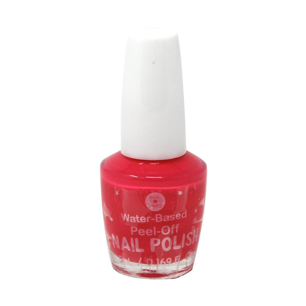 Childrens peel off nail polish - Pink Poppy
