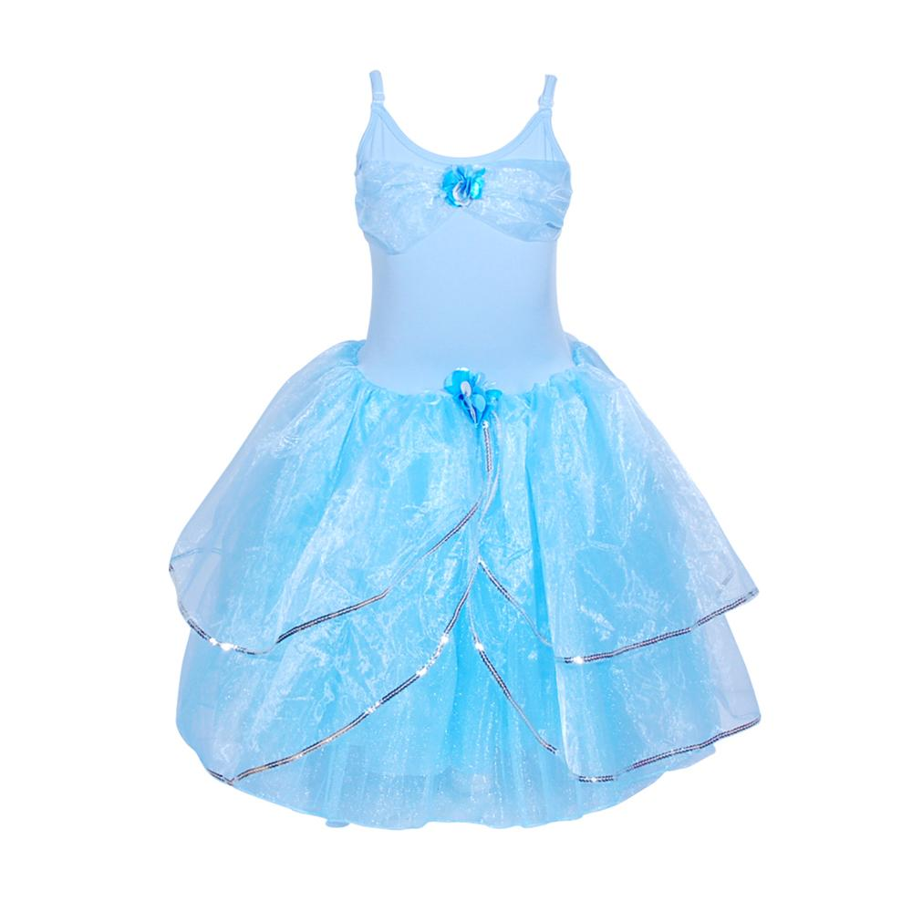 Princess Ella dress size 3/4-blue - Pink Poppy