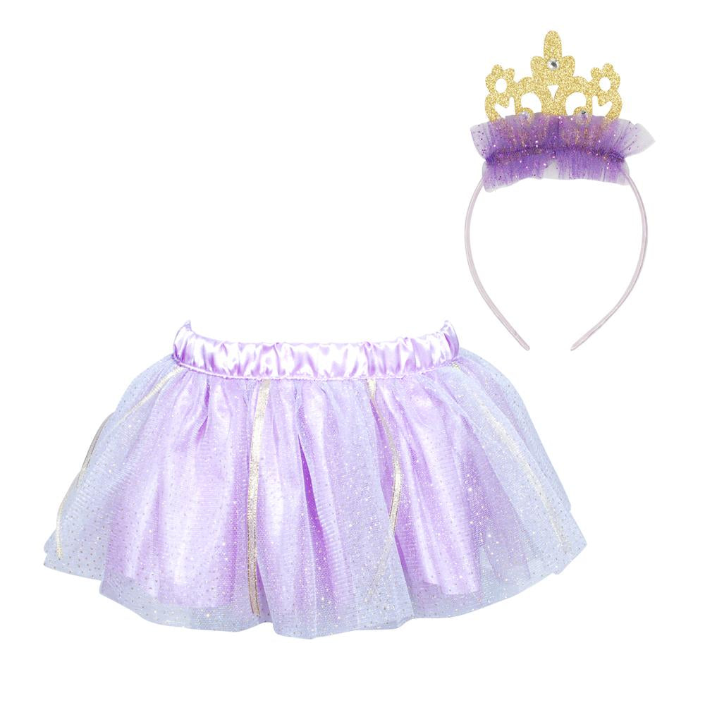 Dreamy Princess Tutu & Headband Set - Pink Poppy