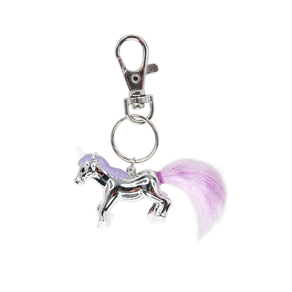 Magical Moments Unicorn Keyring - Pink Poppy