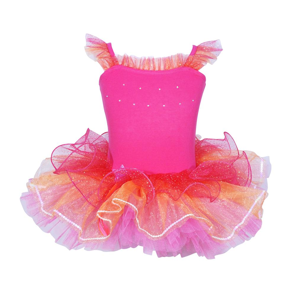 Dancing Star tutu size 3/4 HP - Pink Poppy