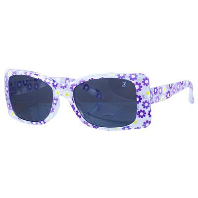 Mini sunflower print sunglasses-lilac - Pink Poppy