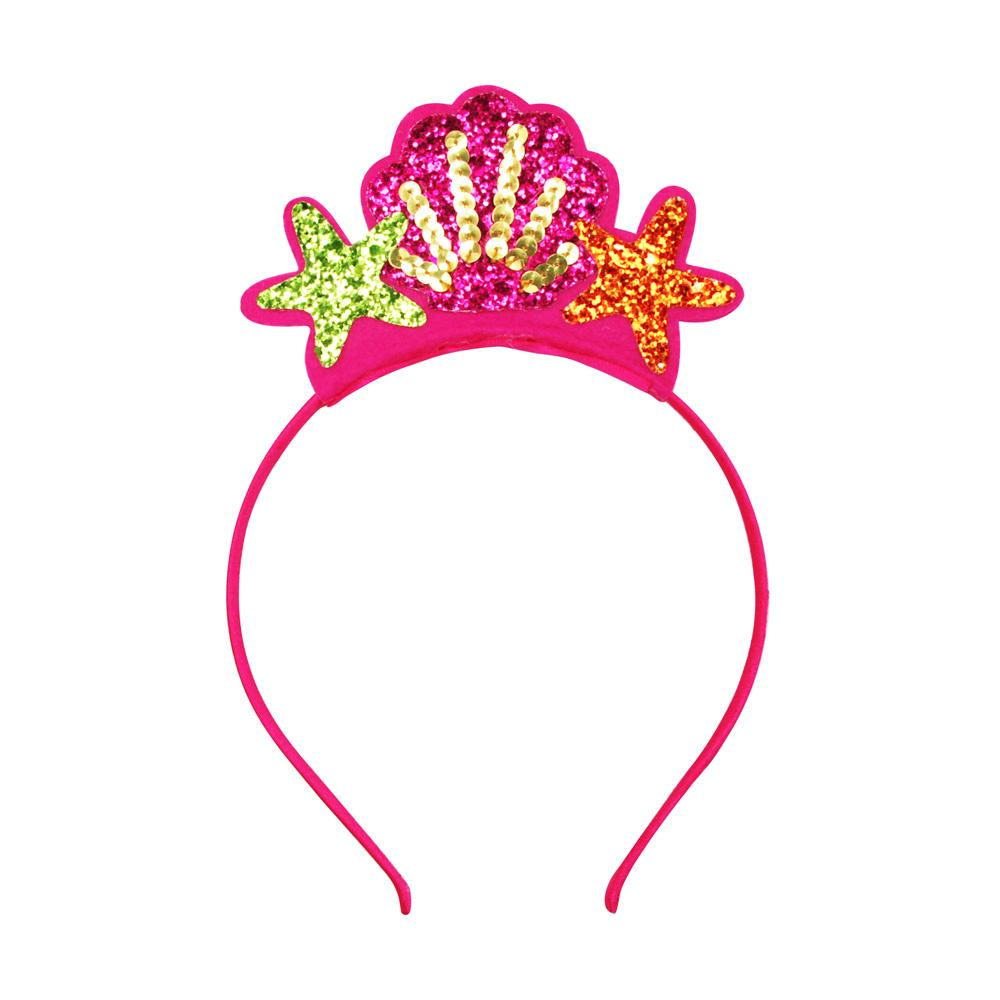 Under The Sea Mermaid Headband - Pink Poppy