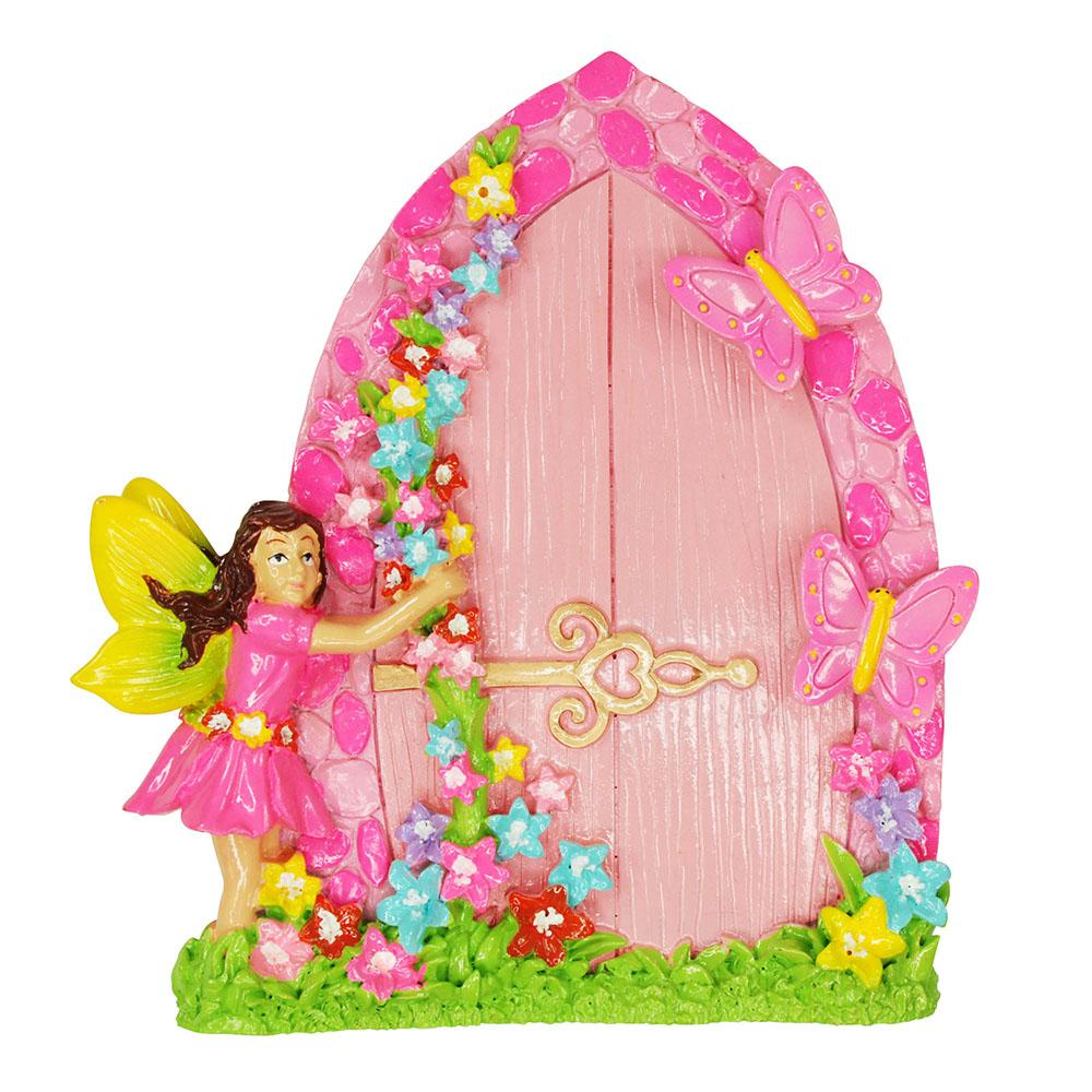 My Fairytale Magical Fairy Door - Pink Poppy