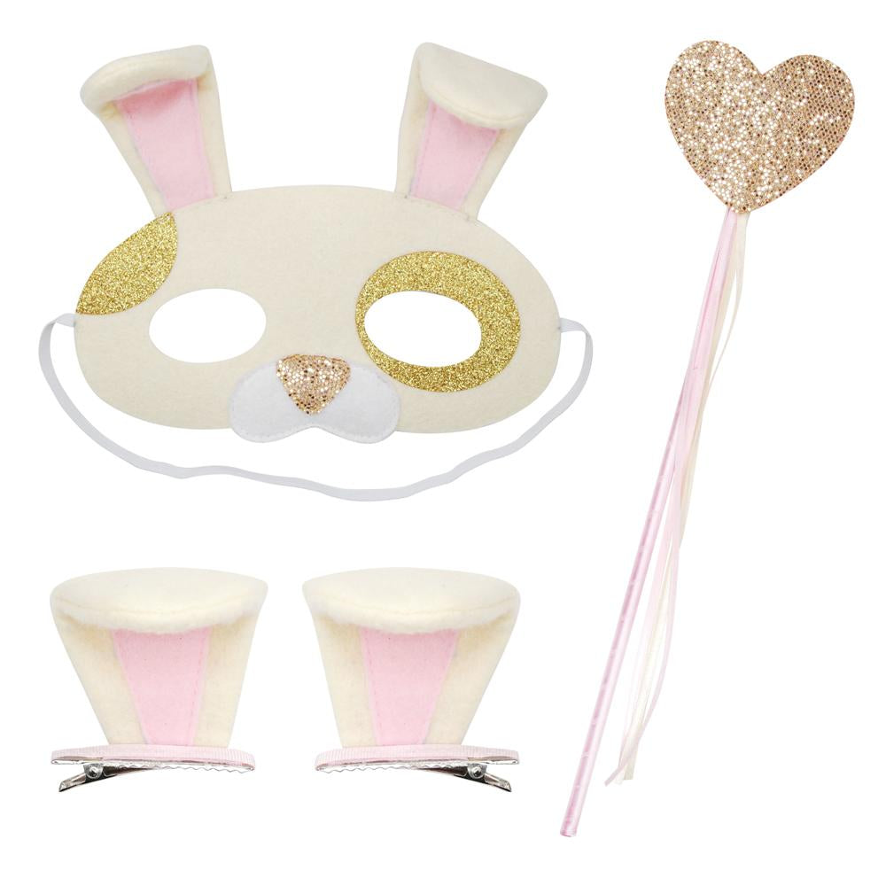 Dress up play set-gold puppy - Pink Poppy