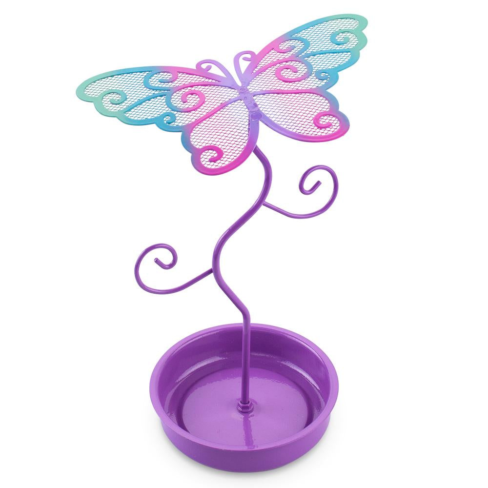 Colourful Butterfly Earring Stand - Pink Poppy