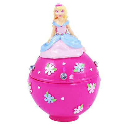 Princess Trinket Box - Pink Poppy