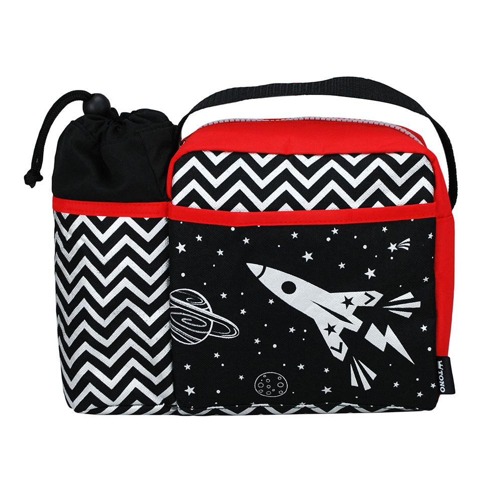 Space King Lunch Bag - Pink Poppy