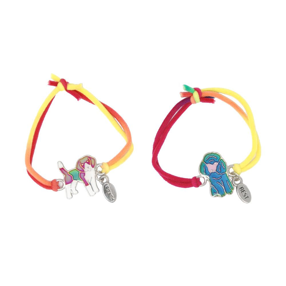Best Friends Lovely Pets Mood Bracelets - Pink Poppy