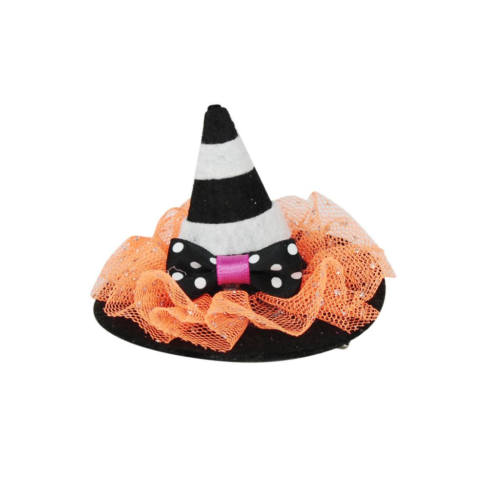 Halloween party hair clips - Pink Poppy